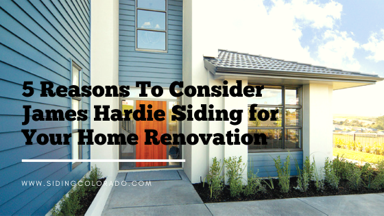 james hardie siding colorado