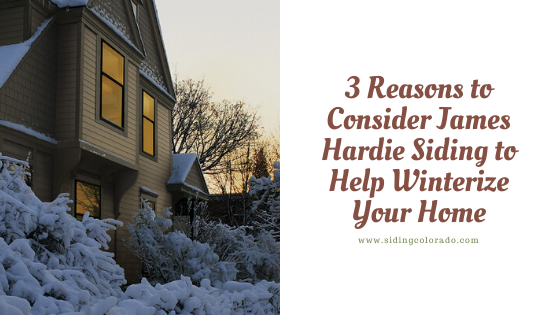 james hardie siding winterize home